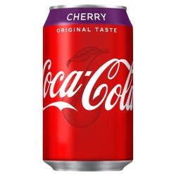 1. coca cherry  canettes packs 24
