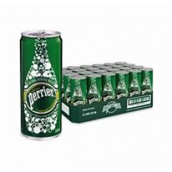 perrier canettes 33cl packs 24