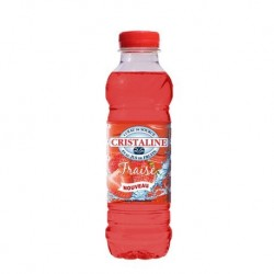 Cristaline Fraise 50cl packs 24
