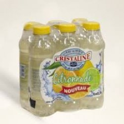 Cristaline citronnade 50cl packs 24