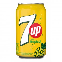 4 SEVEN UP - Tropical